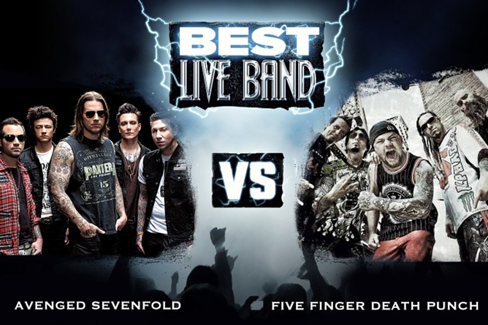 Five Finger Punch Best Live Band Round 1