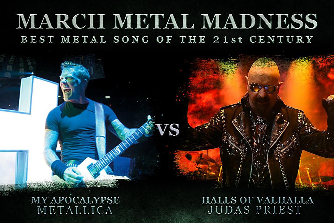 metallica vs judas priest march metal madness