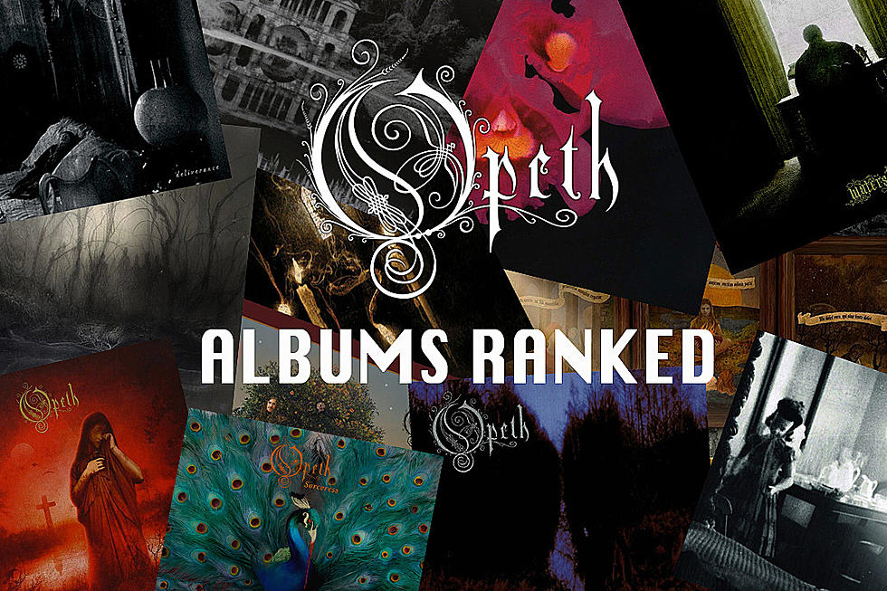 Opeth Albums Ranked