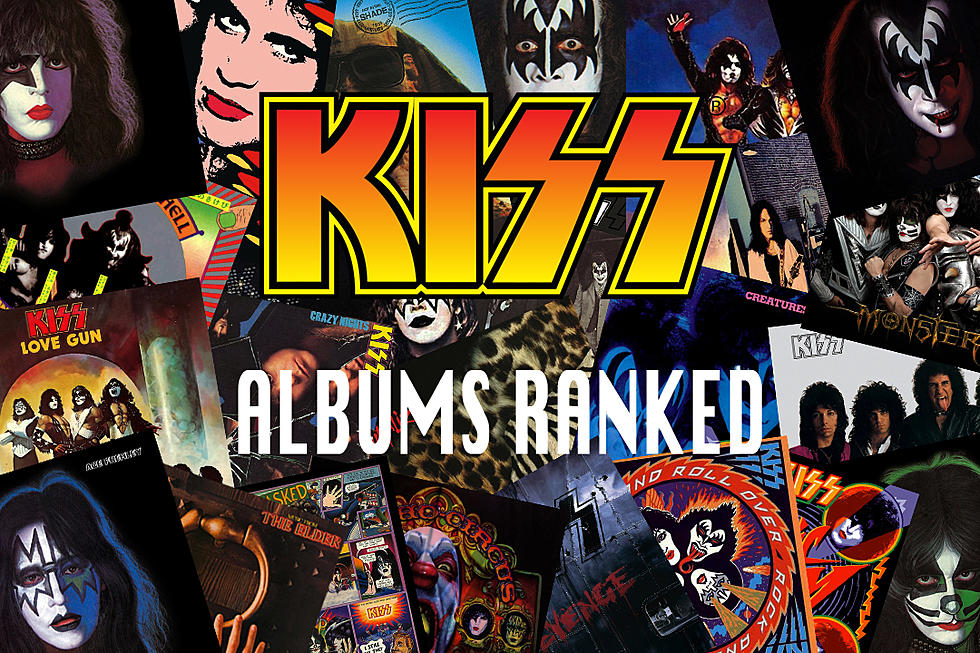 kiss albums ranked
