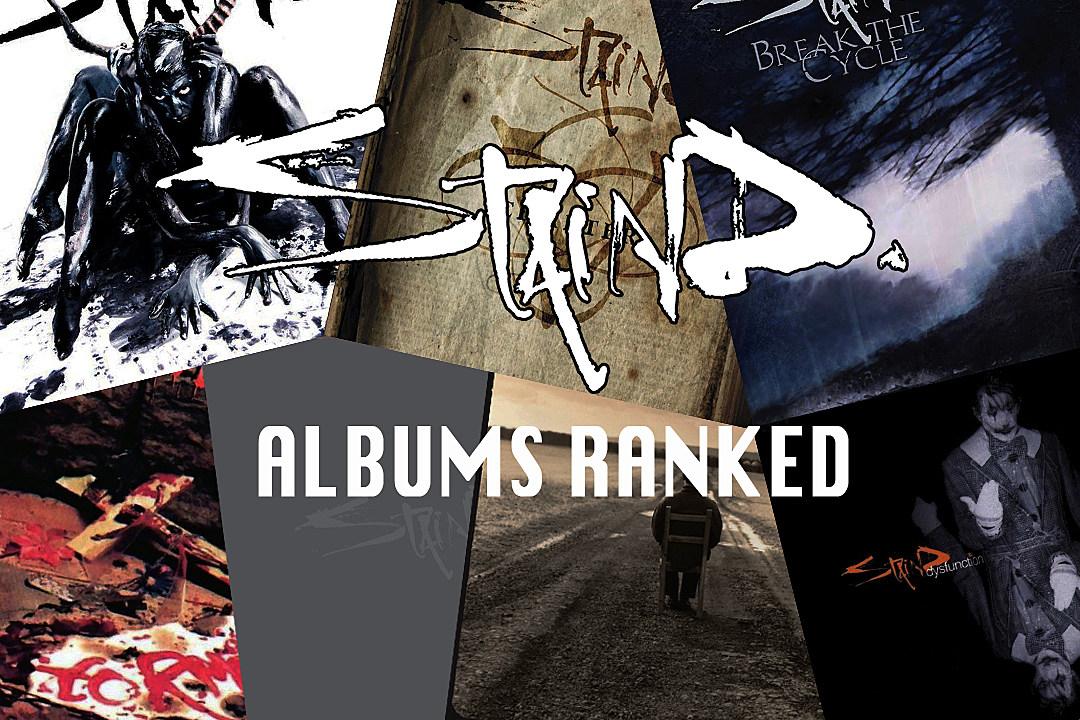 staind albums ranked