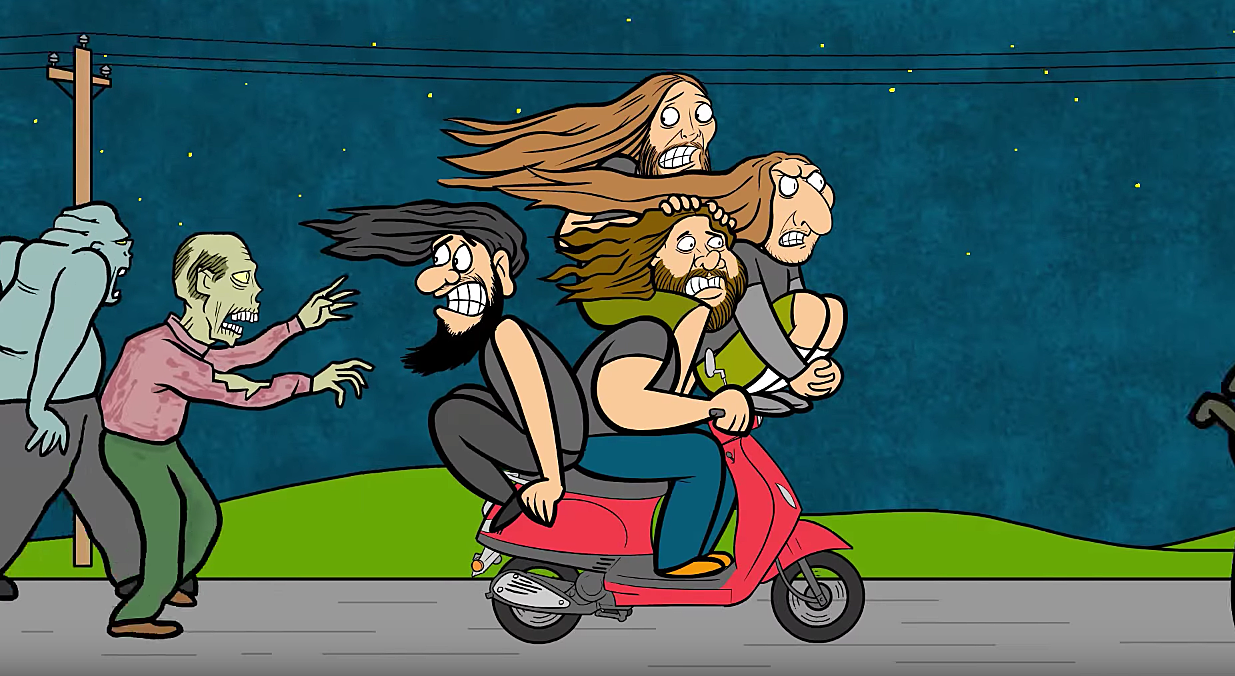 Obituary Release Animated Ten Thousand Ways To Die Video