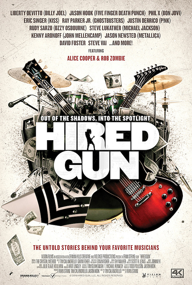 Five Finger Death Punch S Jason Hook Talks Hired Gun Documentary