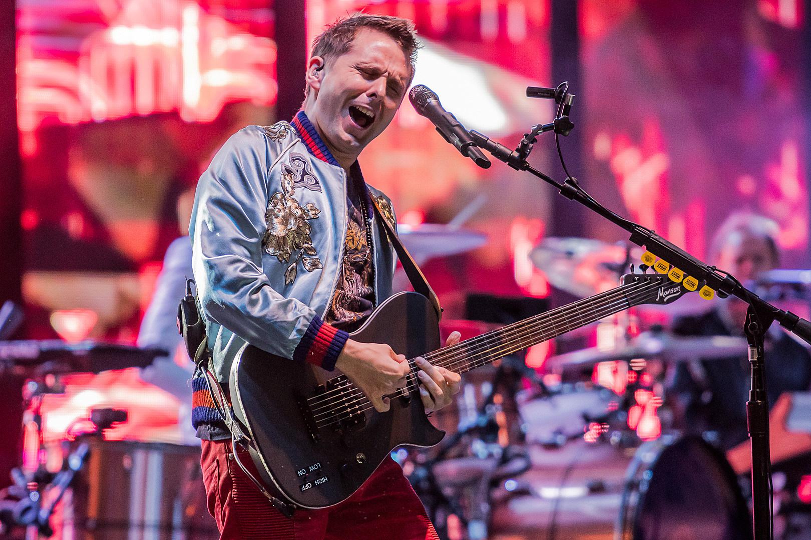 Muse S Matt Bellamy The Guitar Has Become A Textural Instrument