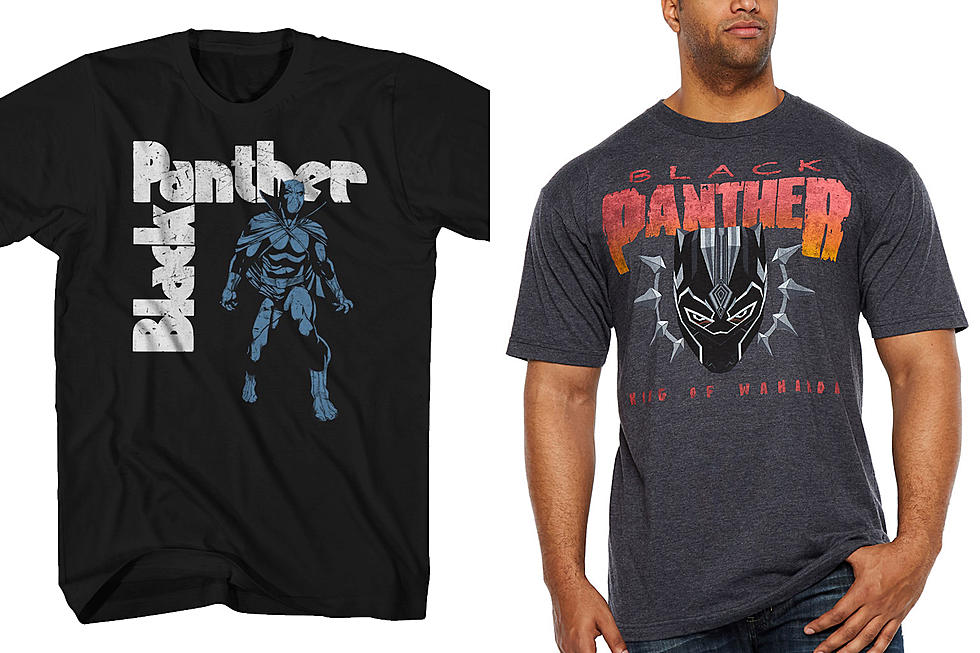 Black Sabbath And Pantera Themed Black Panther Shirts Available