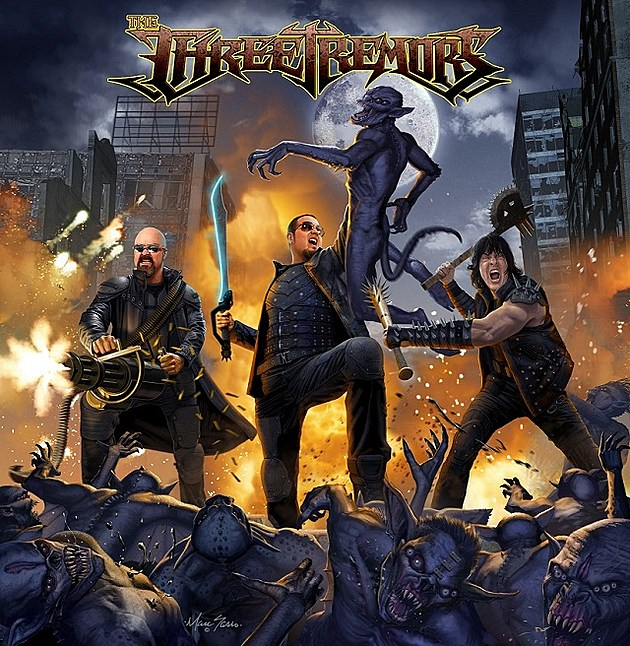 Image result for the three tremors album