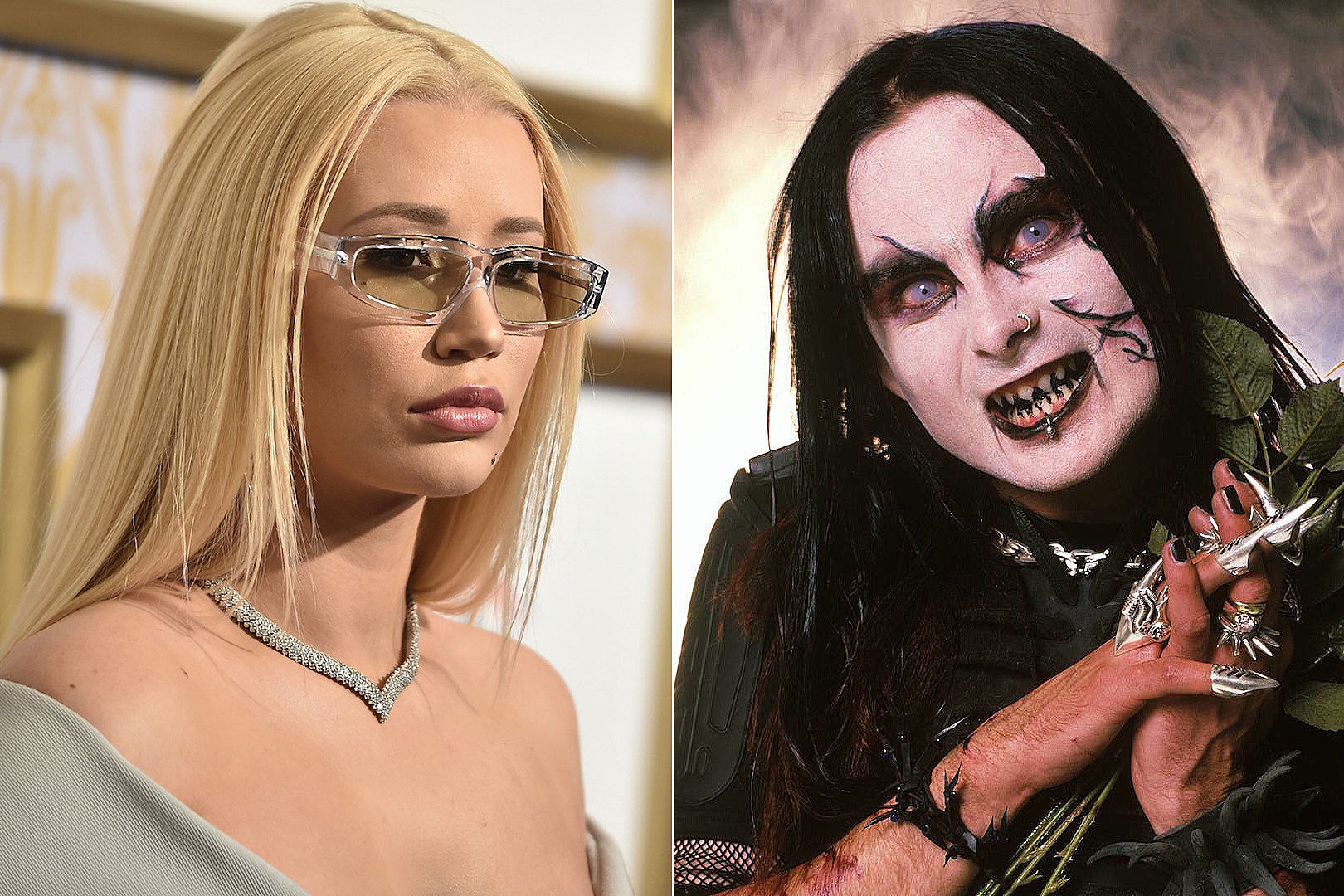 Iggy Azalea Wore The Cradle Of Filth Jesus Is A C T Shirt