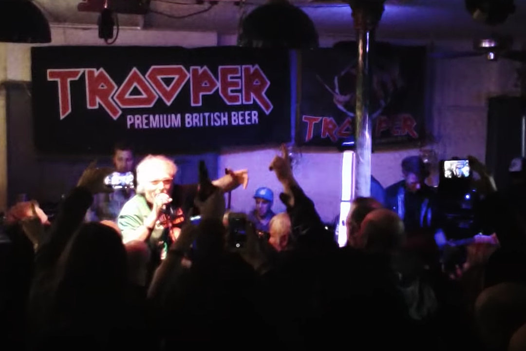 Iron Maiden Three Fifths Of Original Group Unite At Special Show