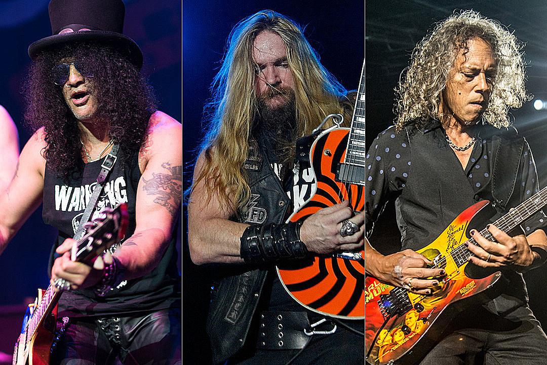 Hammett Kirk More Wylde Pay Zakk Slash Tribute to Jim Dunlop qx6tPSTw