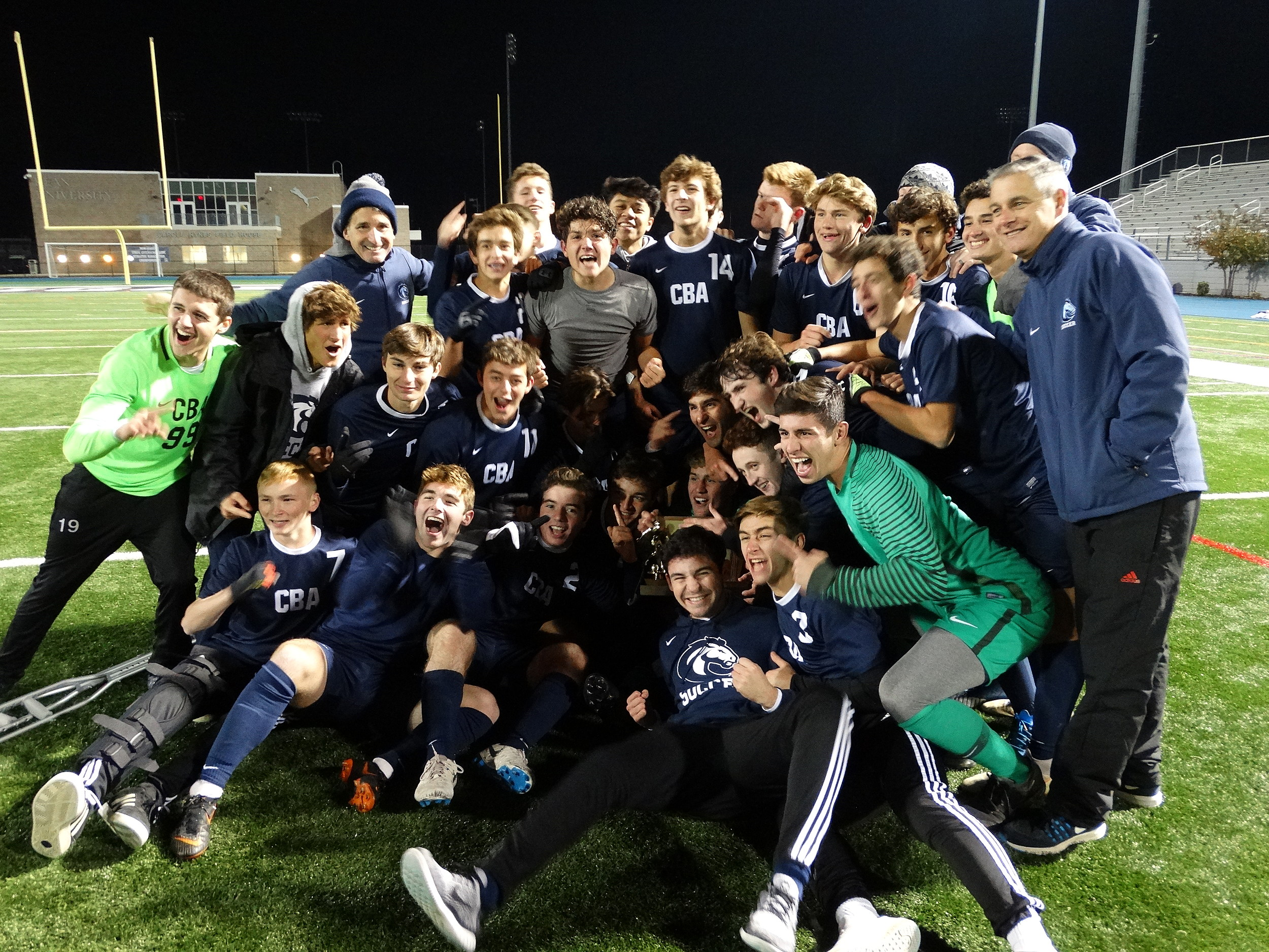 Boys Soccer Cba Stuns Delbarton In Double Ot To Win Non Public A
