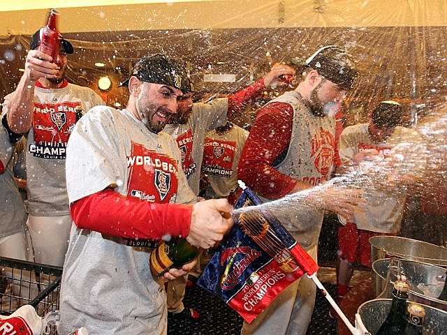 Cardinals celebrate their unlikely World Series title