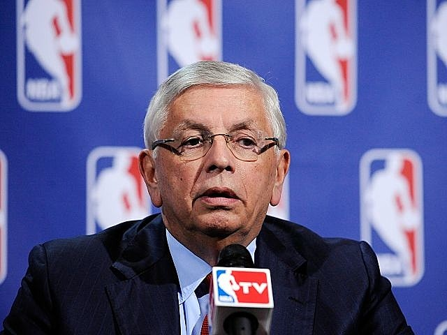 NBA Commissioner David Stern
