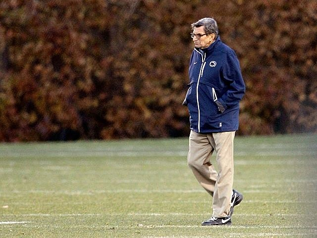 Joe Paterno fired by Penn State