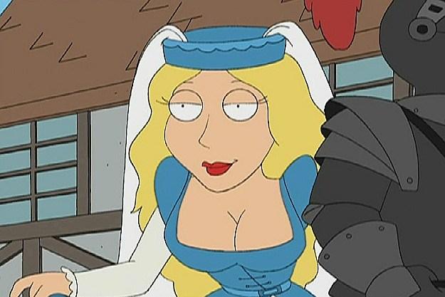 Meg mouth spunk