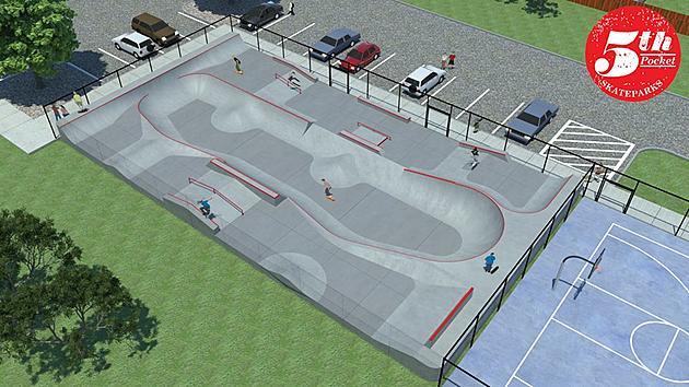 brick breaks ground on new skate park