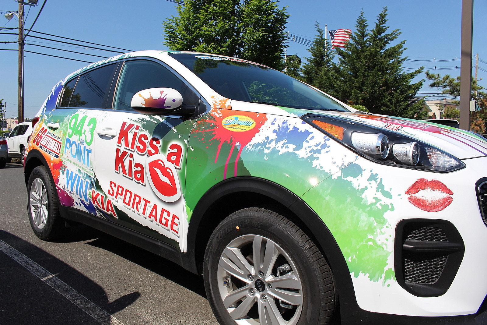 Kiss A Kia This Summer And Drive Away In A Brand New Kia Sportage