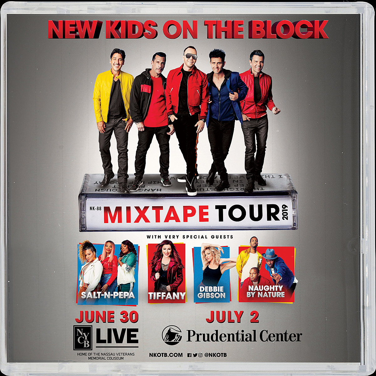 Win Tickets To See NKOTB On Their \