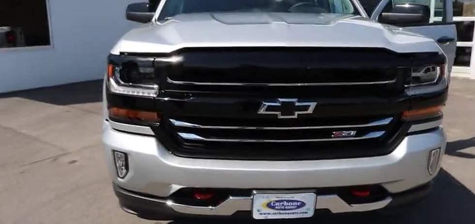 A Closer Look At The 2017 Chevy Silverado Redline Edition Sponsored