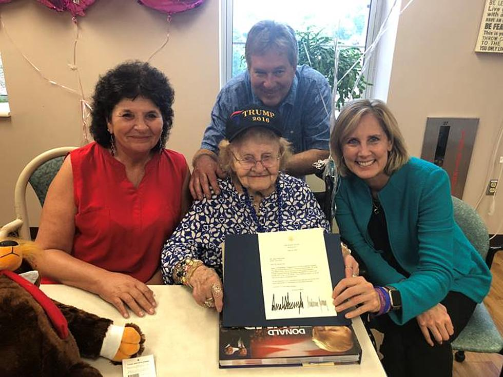 Tenney Presents Birthday Card To 105 Year Old Rome Woman