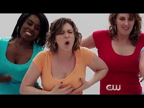 Women tease with their boobs