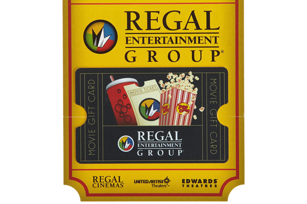 100 Regal Movie Gift Card