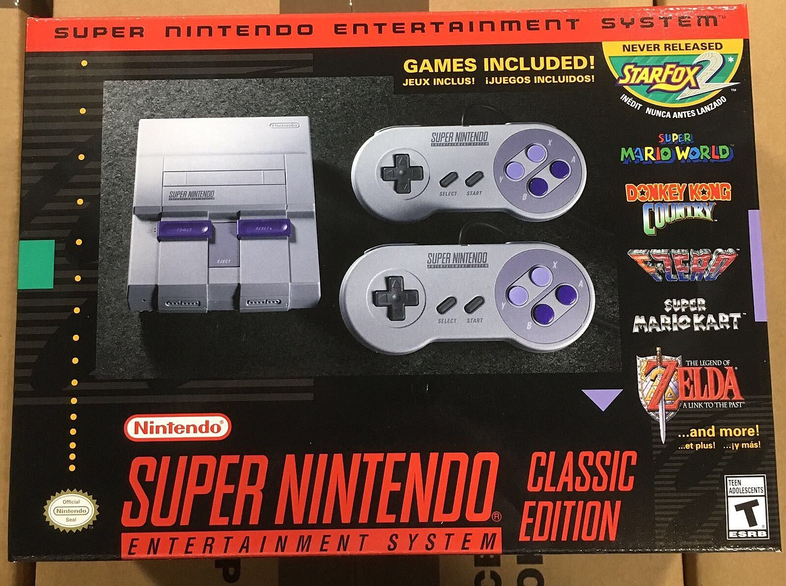 Classic Super Nintendo Systems Will Be On Sale At Meijer At Midnight