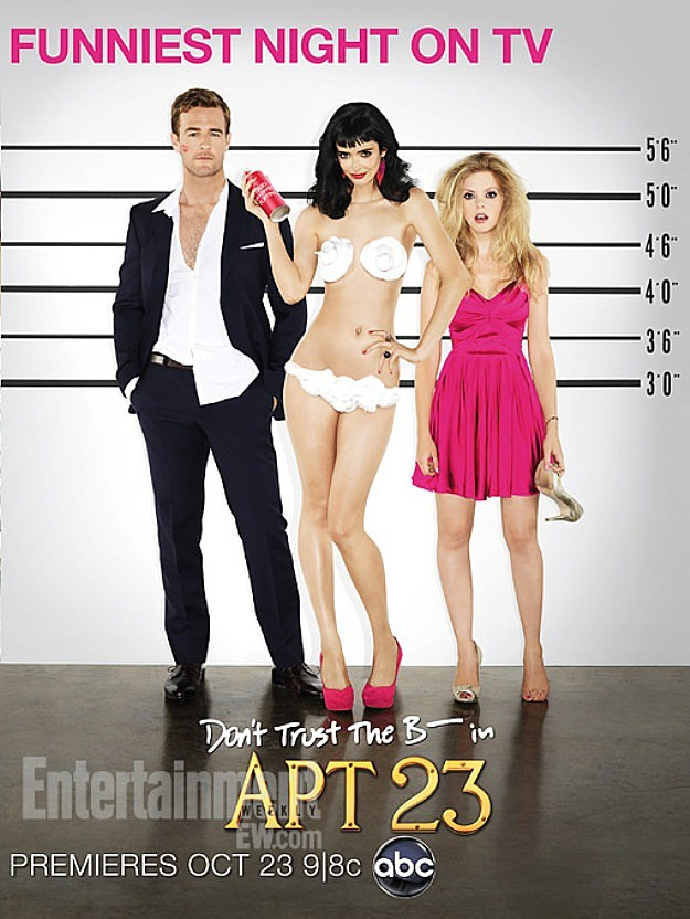 Dont Trust The B In Apartment 23 Season 2 Poster