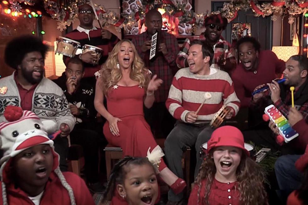Jimmy Fallon, Mariah Carey and a Chorus of School Kids Win Christmas ...