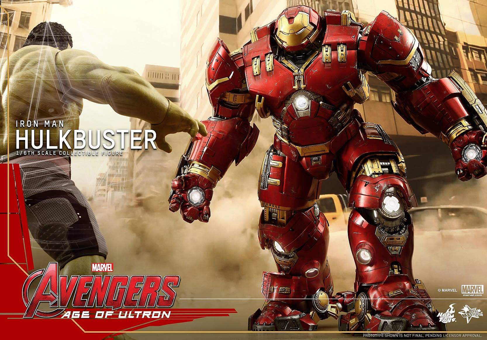 The Avengers 2 Hulkbuster Toy Is A Must Have For Marvel Fans