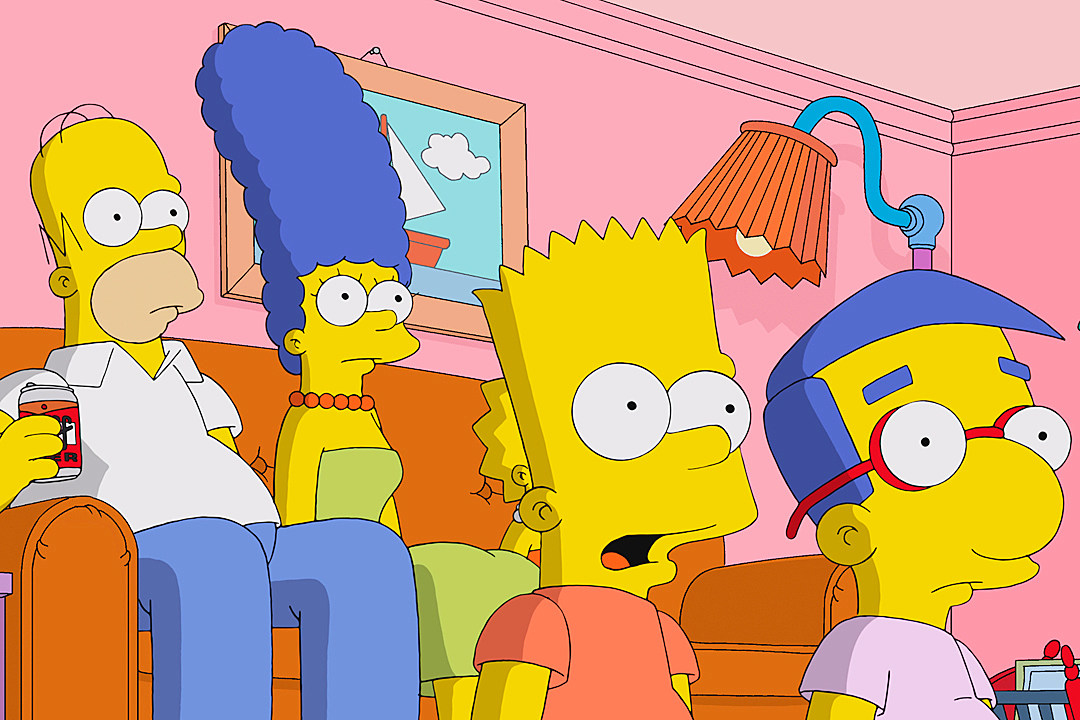 the simpsons live segment first simprovised photo
