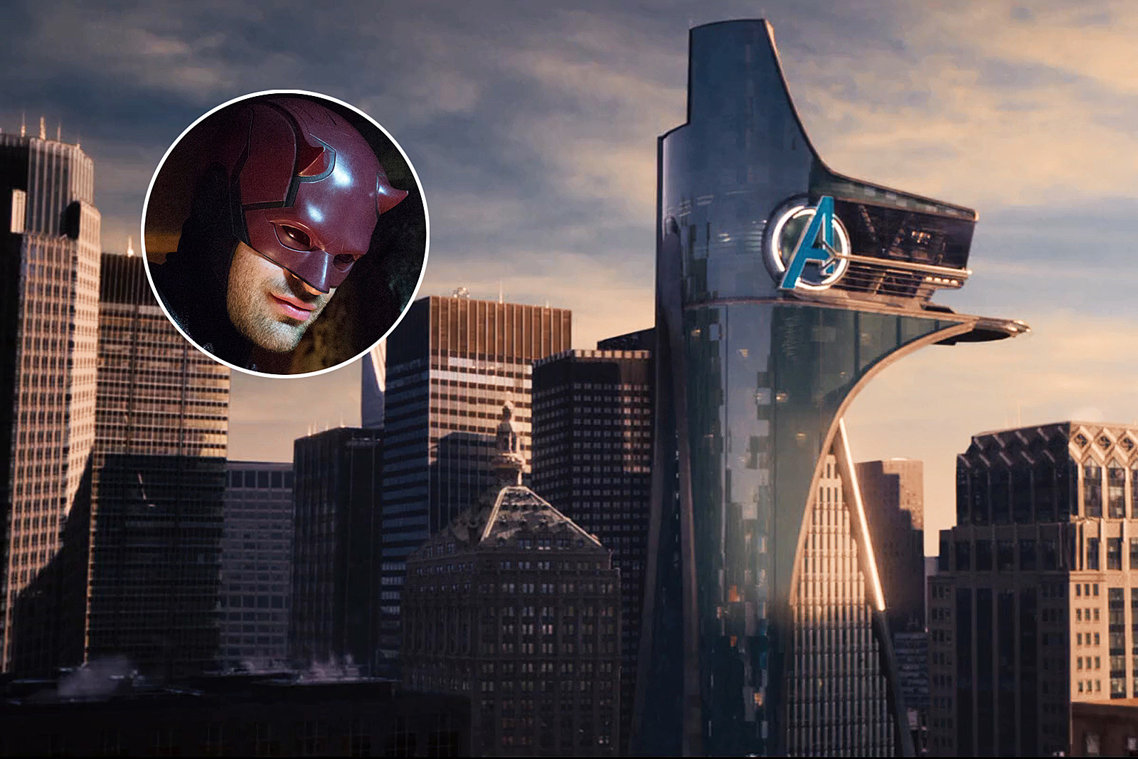why the defenders series never show avengers tower