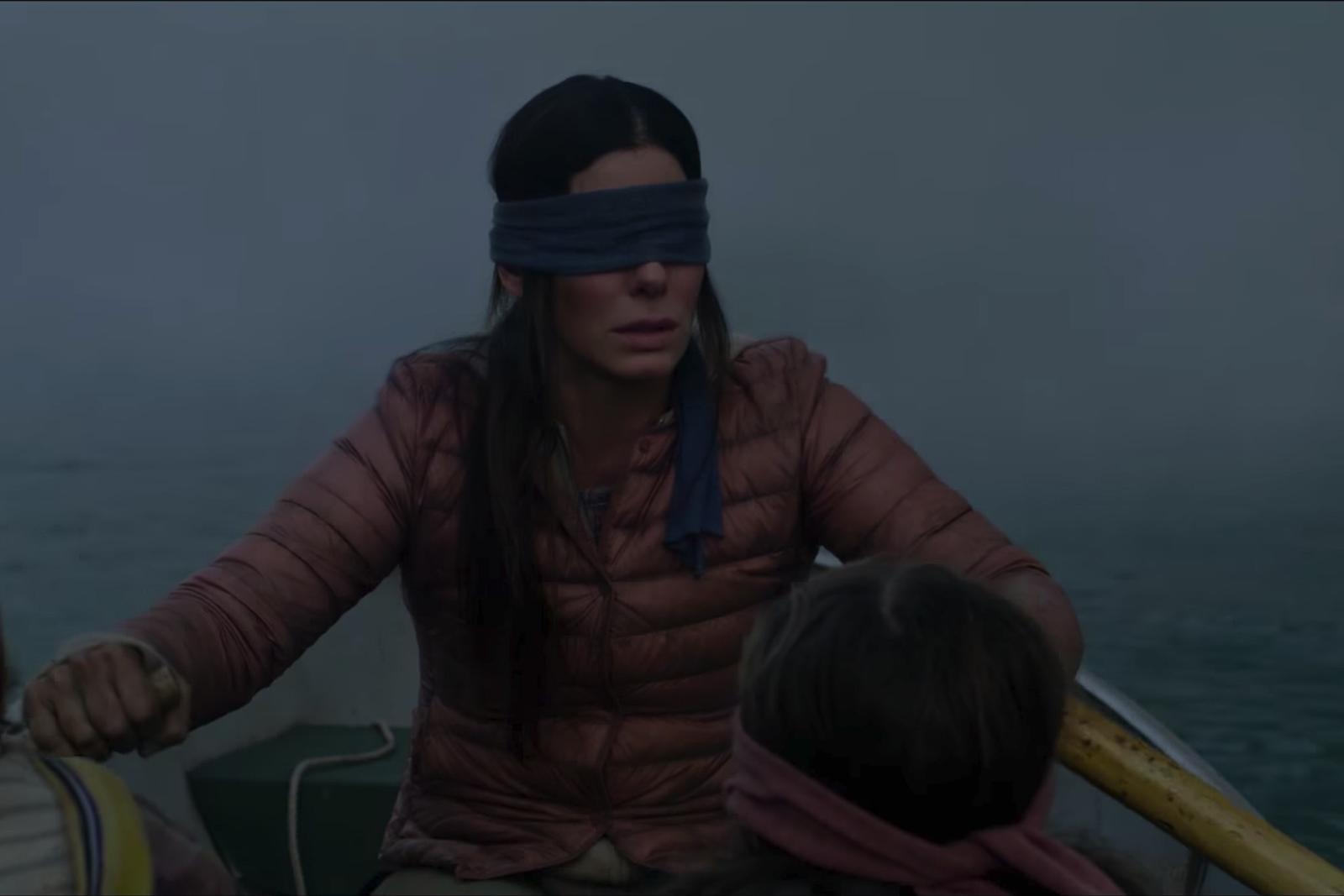 Sandra Bullock Fights An Evil Force In Freaky Bird Box Trailer