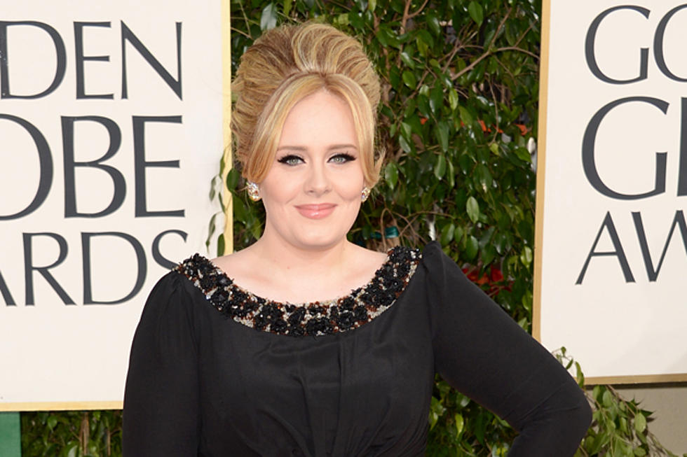 Adele Wins Golden Globe For Skyfall