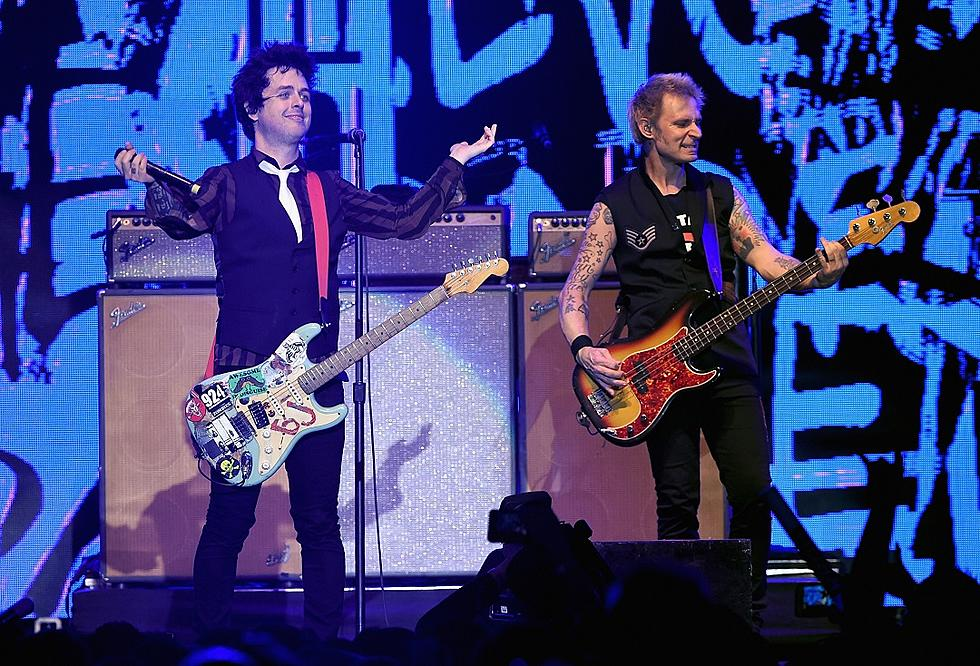 Green Day Covers The Rolling Stones Honors George Michael At First