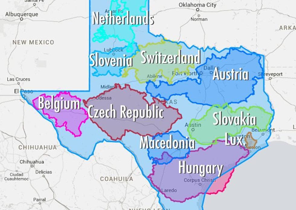 Map Of Texas Vs Europe.Texas Vs Europe Map Map North East