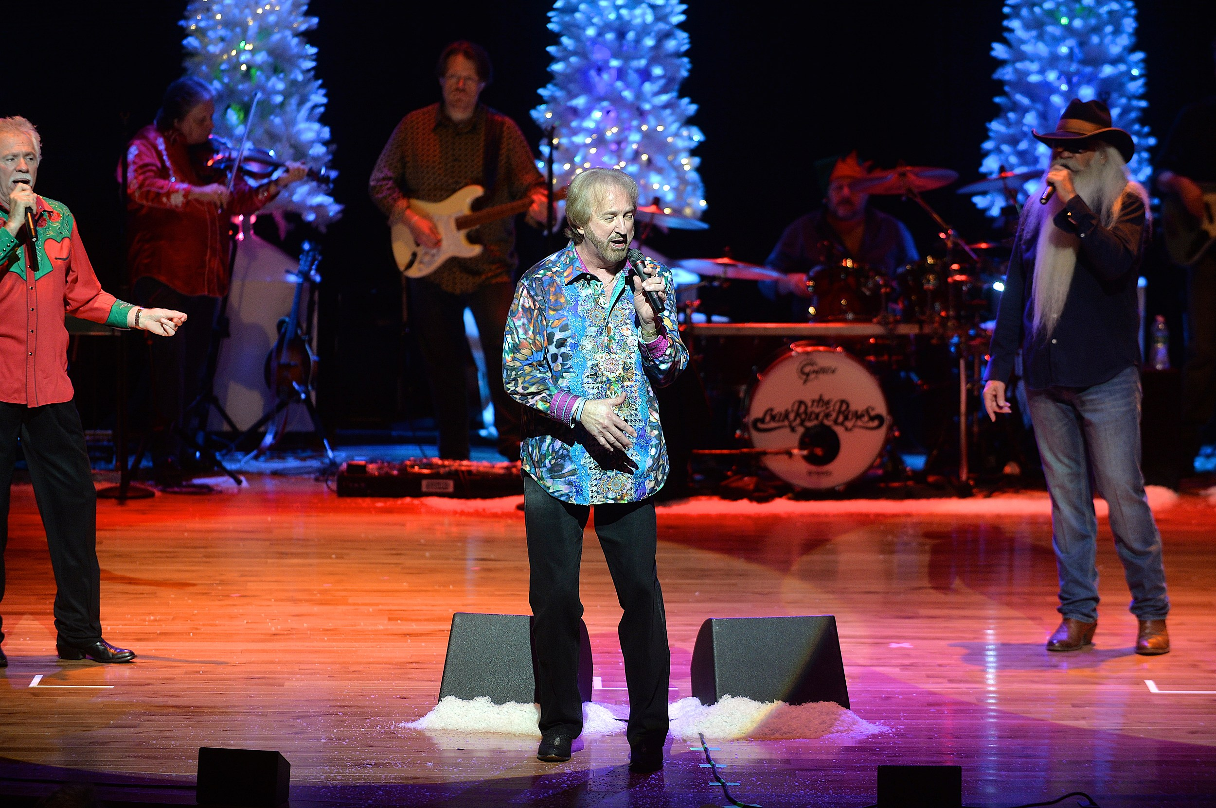 Oak Ridge Boys Bring Christmas Show to Budweiser Events Center