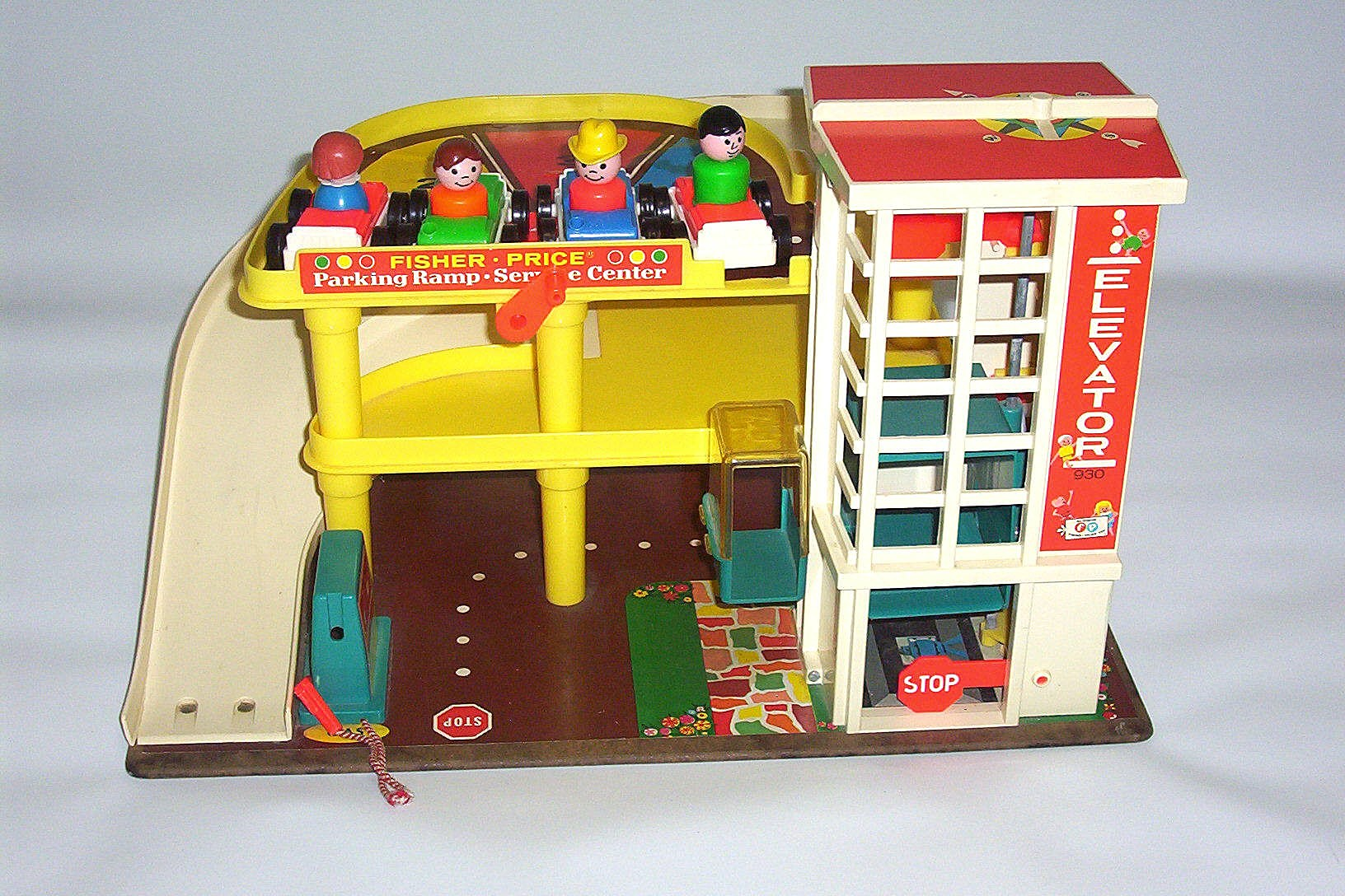 Garage Fisher Price : Fisher price parking garage to learn more about this vintau flickr