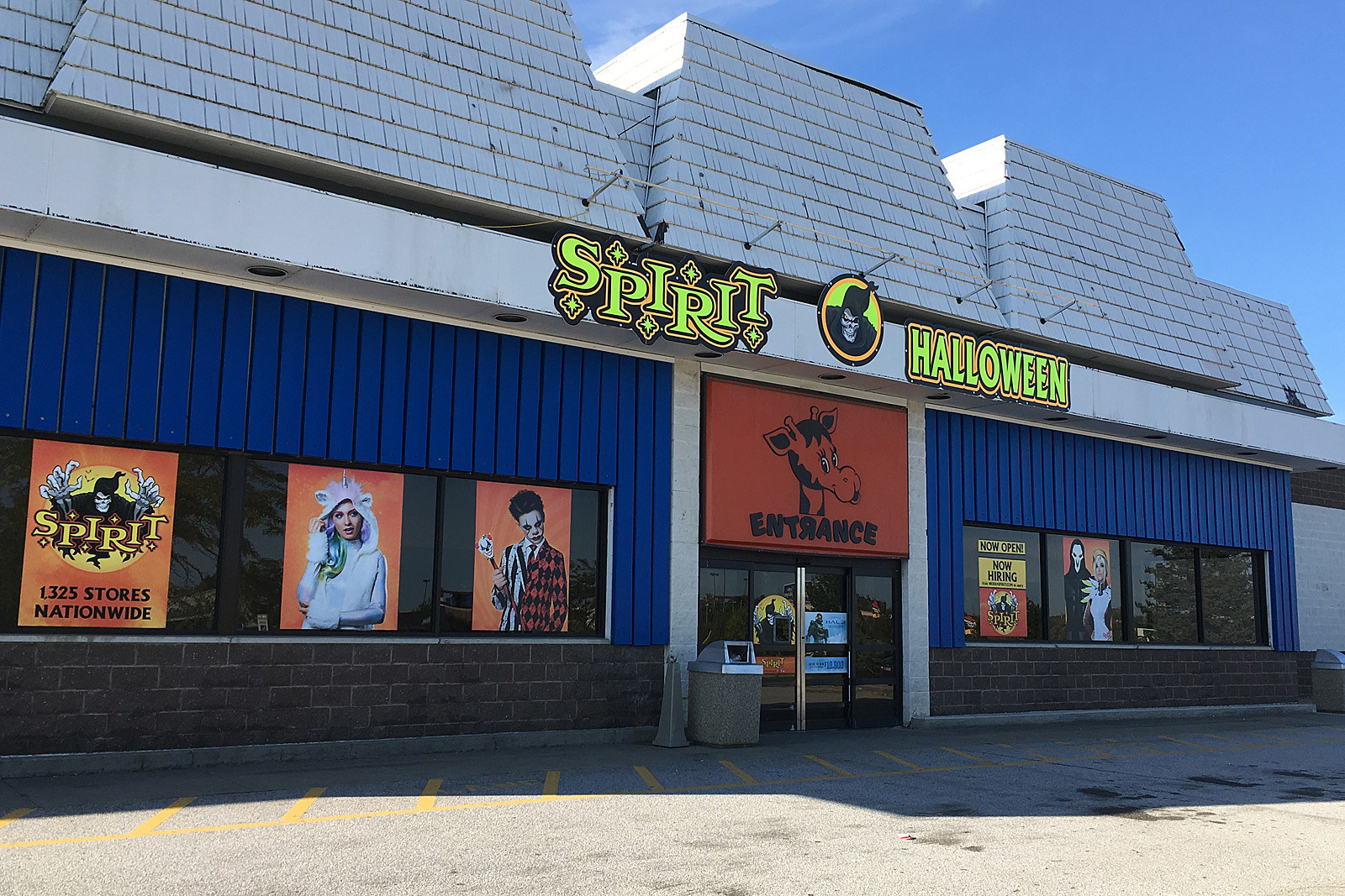 spirit halloween opens at new location in bangor