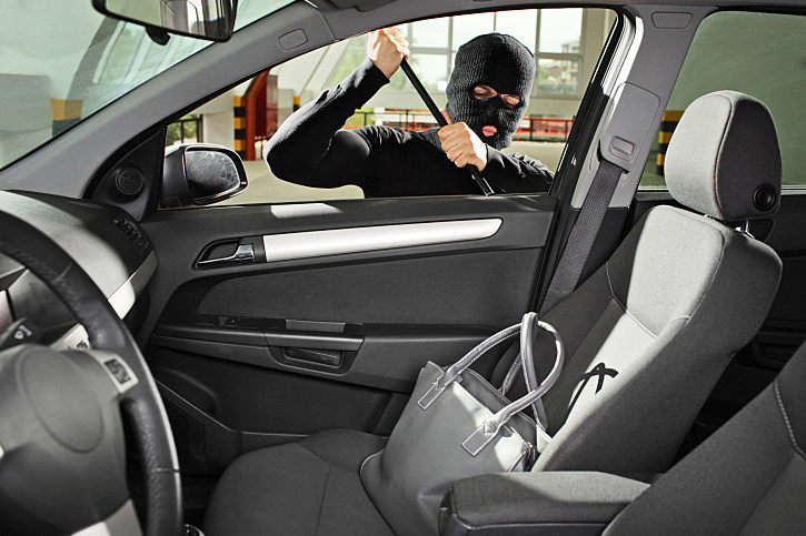 car break in nets thieves wallet and beats headphones