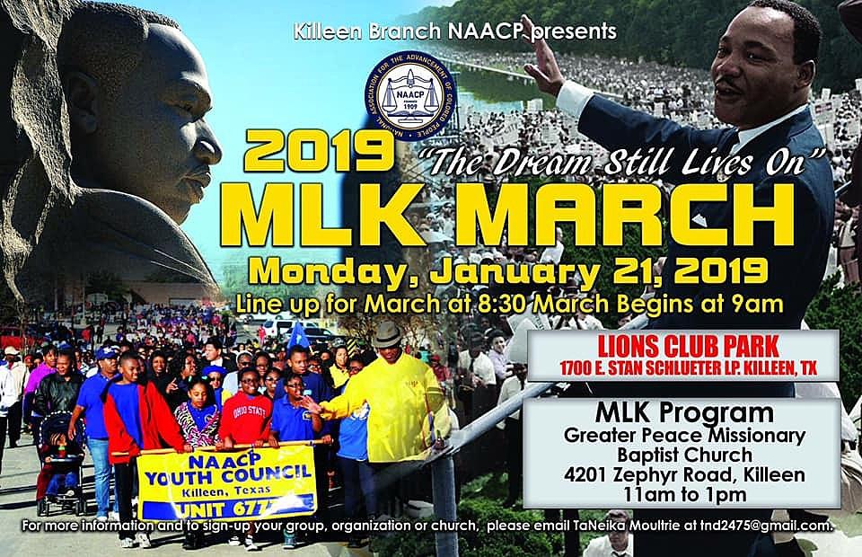 Celebrating Dr Martin Luther King 2019 Mlk Day March Program