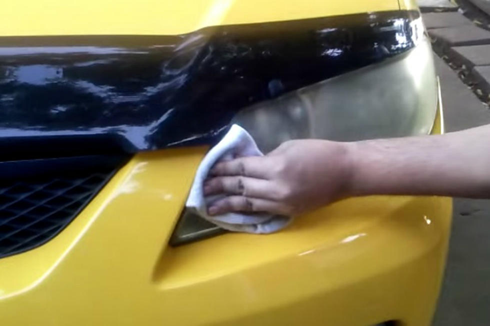 Using Bug Spray To Restore Those Yellow Faded Headlights Video