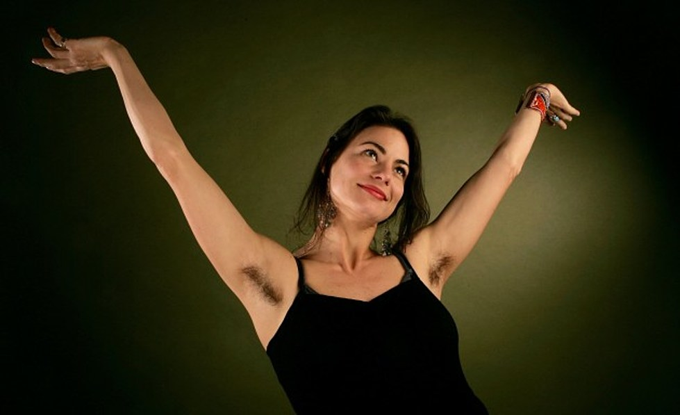 Dyed Armpit Hair Is Actually A Trend Video