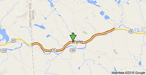 Porter Maine Map.Maine Woman Killed In Fiery Collision With Wood Chip Truck