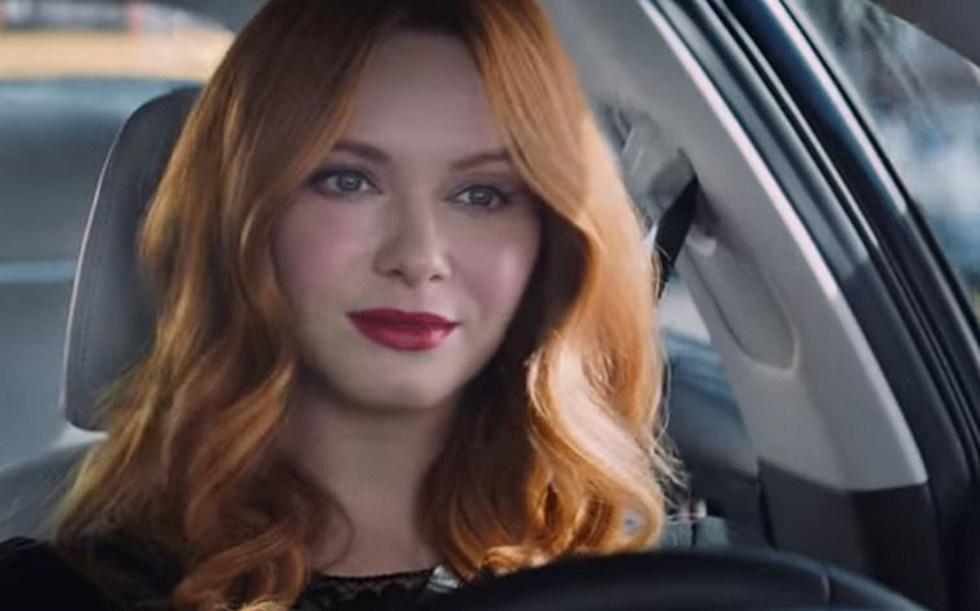 Christina Hendricks Is The Girl In The Kia Tv Commercials Photos