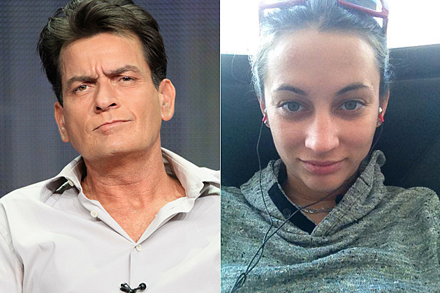 porn wife charlie sheen charlie sheen snapped kissing another porn star