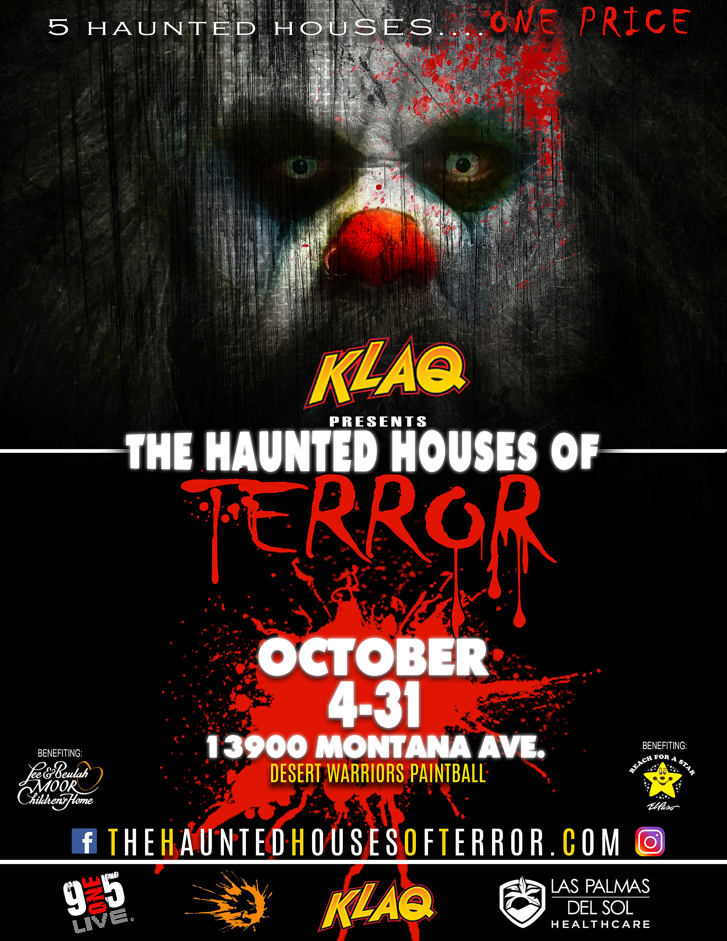 klaq presents haunted houses of terror