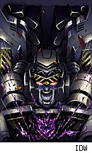 TRANSFORMERS MEGATRON ORIGIN #1 cover