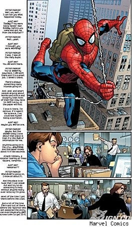Page 12 from Ultimate Spider-man Issue 111