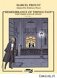 Remembrance of Things Past Part Three: Love Of Swann, Vol.1 cover