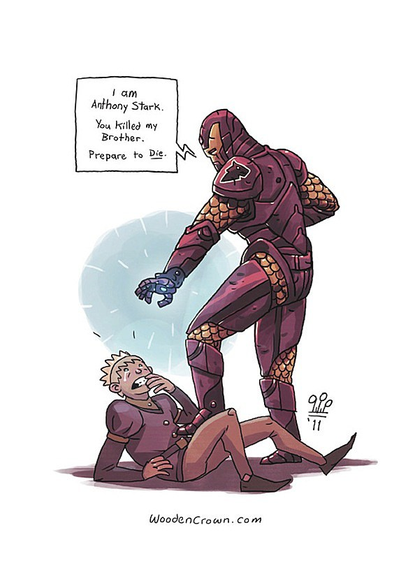 Iron man game of thrones crossover fanfiction